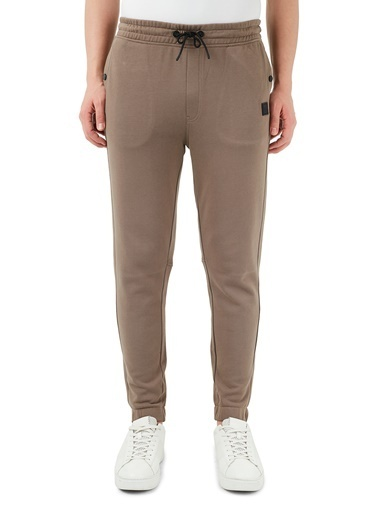 Hugo Boss  % 100 Pamuklu Belden Bağlamalı Relaxed Fit Pantolon Erkek Pantolon 50426793 250 Bej